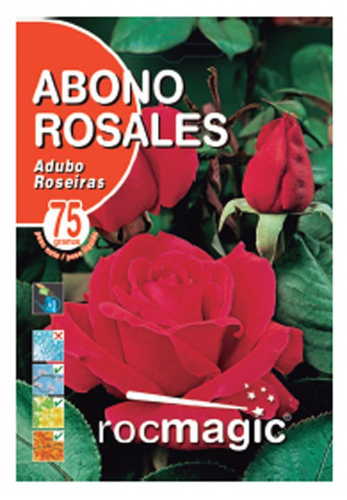 SOLUBLE ROSEBUSH FERTILIZER -75gr envelope-