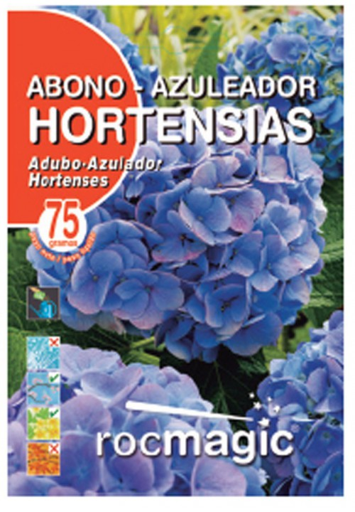SOLUBLE HYDRANGEA BLUE POWER FERTILIZER -75gr envelope-