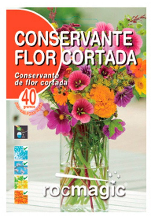 CONSERVANTE FLOR CORTADA - SOBRE 40g