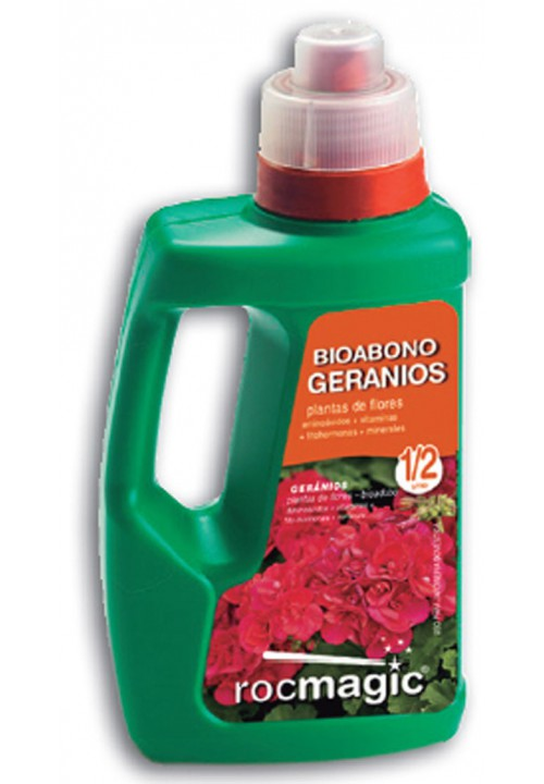 LIQUID FERTILIZER GERANIOS - BOTELLA 500cc