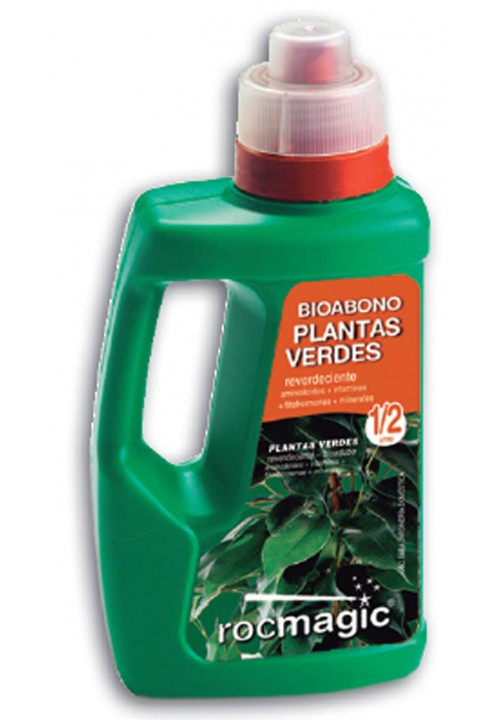LIQUID FERTILIZER PLANTAS VERDES - BOTELLA 500cc-