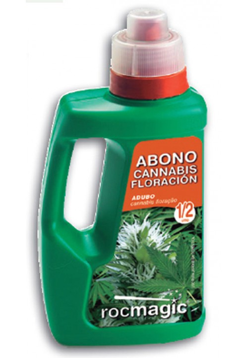 LIQUID FERTILIZER CANNABIS FLORACION - BOTELLA 500cc-