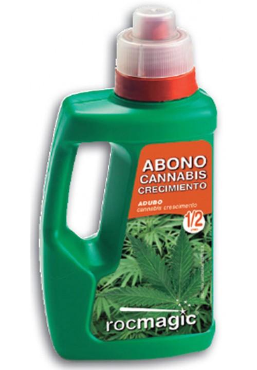 ABONO CANNABIS CRECIMIENTO -BOTELLA 500cc-
