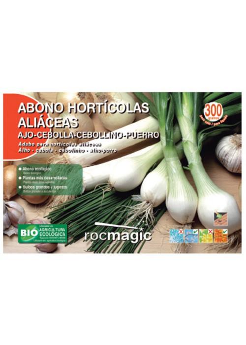ABONO HORTICOLAS ALIACEAS SOBRE 300 G.
