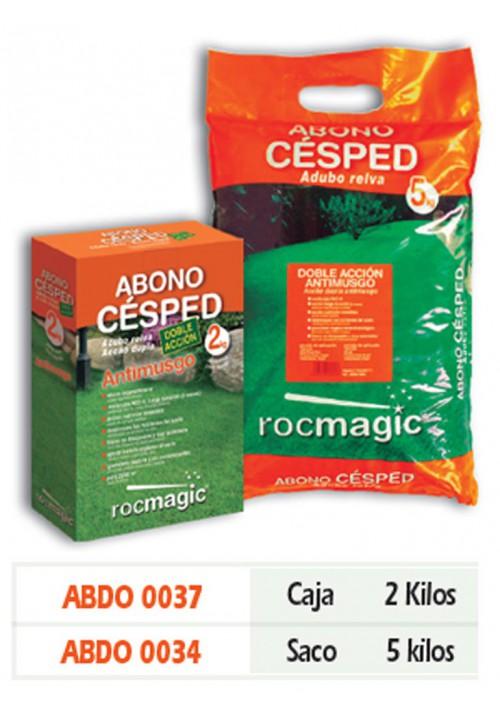 ABONO CESPED D.ACCION ANTIMUSGO-CAJA 2kg