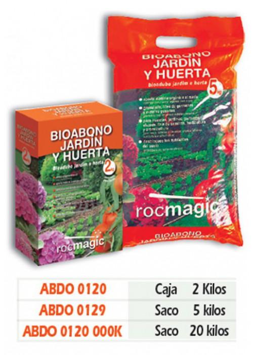 ABONO JARDIN Y HUERTA - CAJA 2kg
