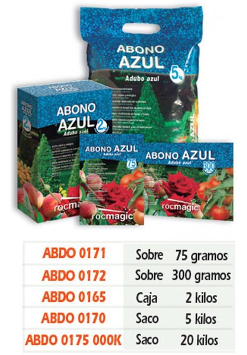 ABONO AZUL - SOBRE 75g